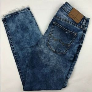 American Eagle Outfitters Acid Wash Faded Extreme